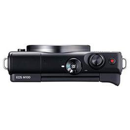Canon EOS M100 Mirrorless Digital Camera Body - Black Thumbnail Image 1